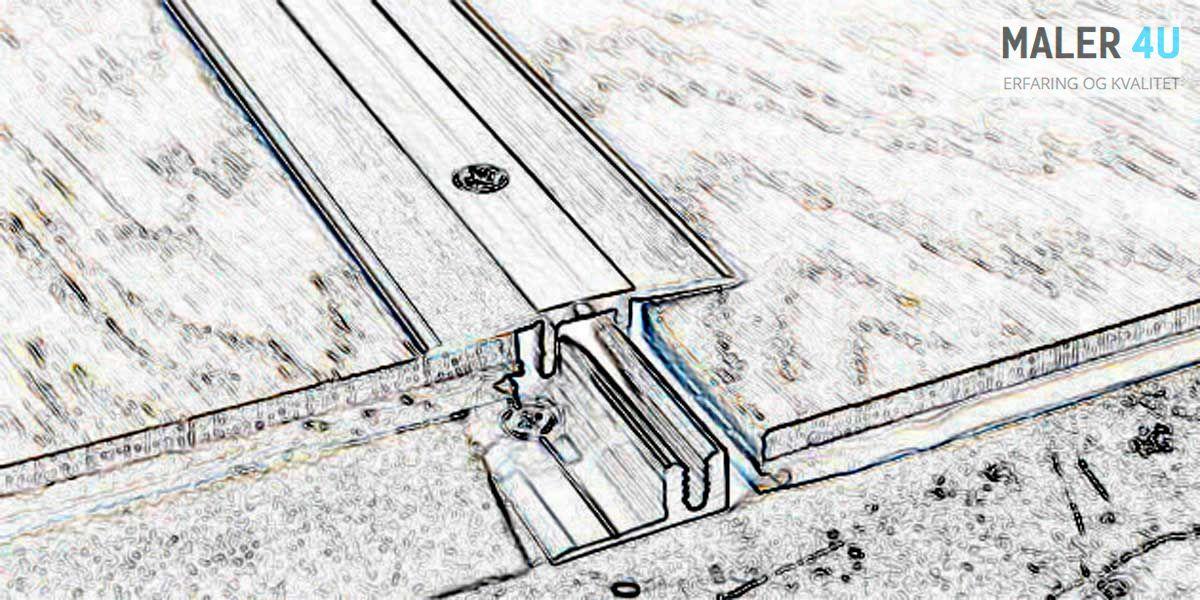 Bergen og omrode,installer terskelene